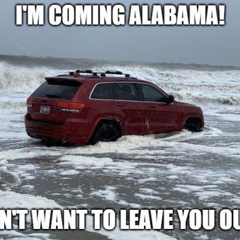 The RedJeepDorian - Coming Alabama Meme